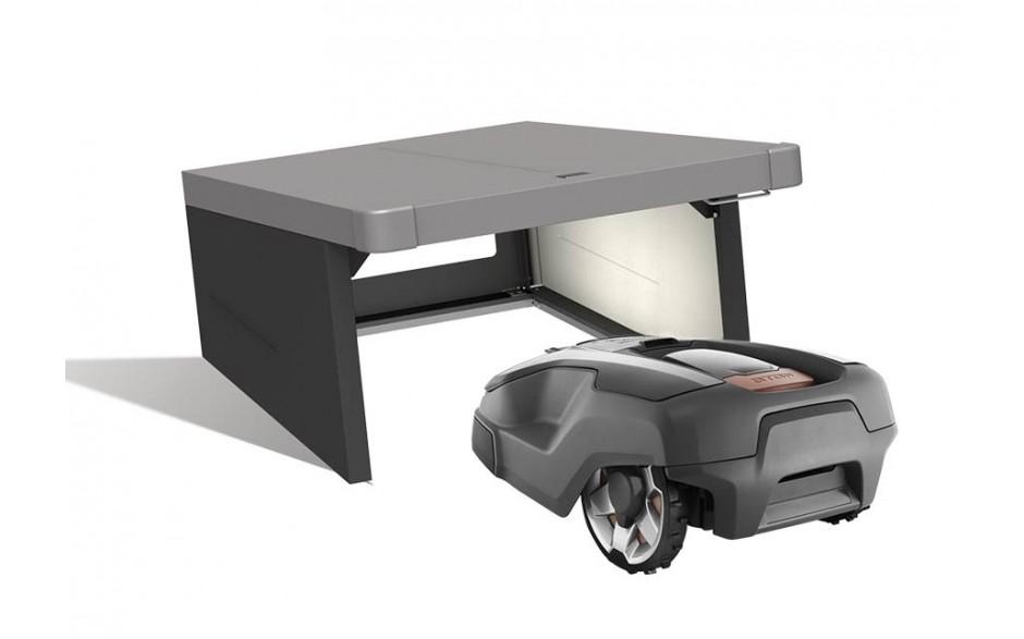 BIOHORT | Garage voor robotmaaier | Charly | Formaat 2 | 78 x 90 x 49 cm