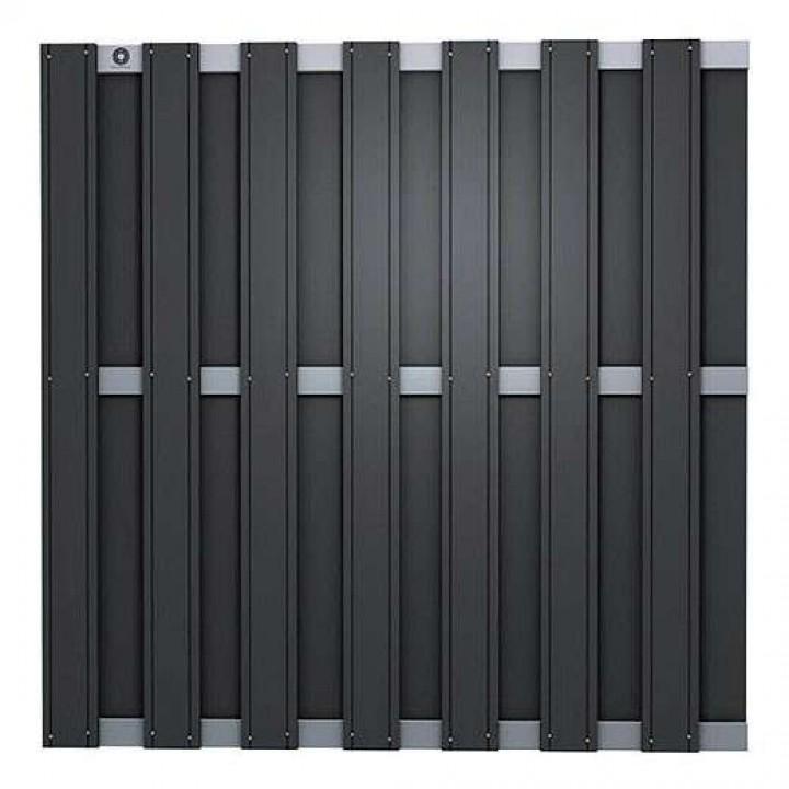 DuoWood | Black-line 180x180 cm | Lava