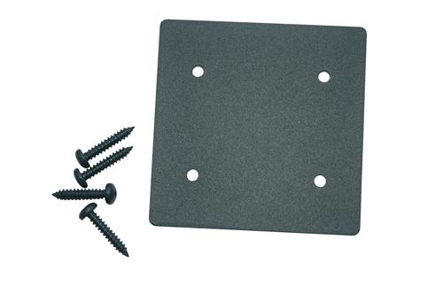 SeriAL/IdeAL   Aluminium Paalkap   Antraciet
