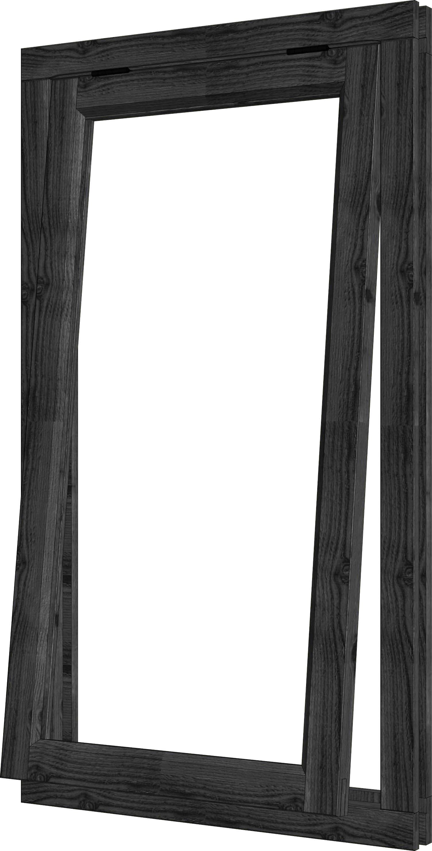 Trendhout | Steel Look Uitzetraam | U1 | 80,8 x 143 cm