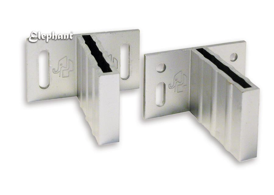 Elephant | T-beslagset tbv Basic/Design schermen | Aluminium