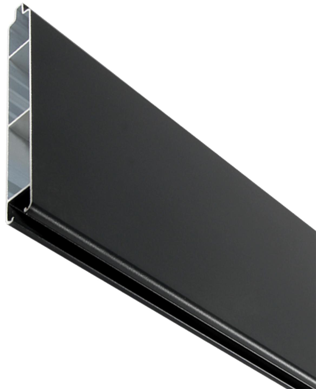 SeriAL | Aluminium opvulling voor Aluminium Scherm | Antraciet