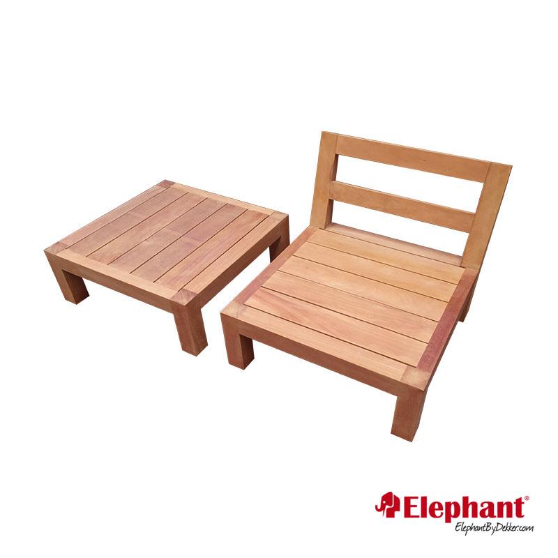Elephant | Lounge element Trinidad zonder rug