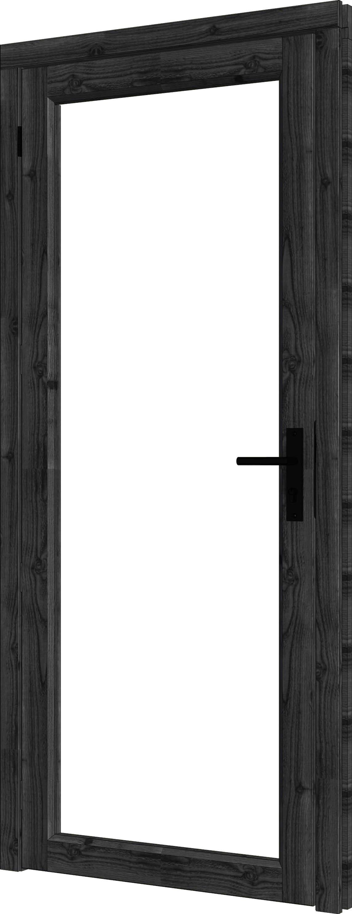 Trendhout | Steel Look Deur Enkel | U1 Linksdraaiend | 96,4 x 213,6 cm