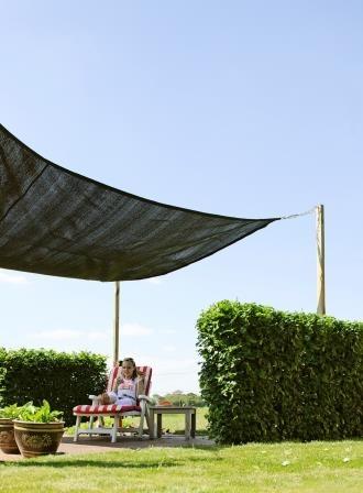 Woodvision | Sunsail Schaduwdoek Vierkant | 360 Zwart OP=OP