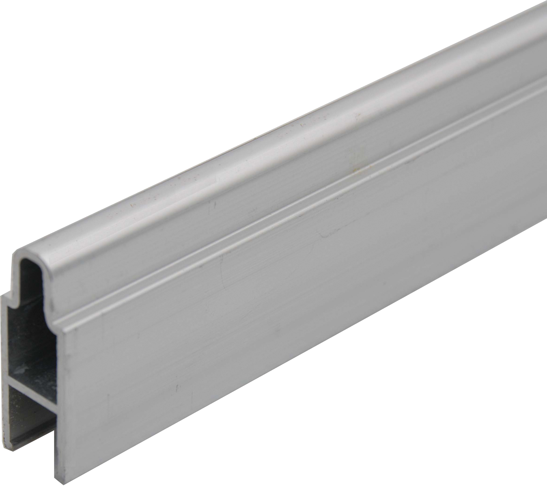 SeriAL | Aluminium Decoprofiel voor Aluminium Scherm | Zilver