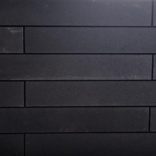 Excluton | Linia palissade 15x15x120 | Nero