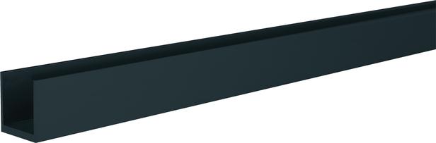 SeriAL/IdeAL   U-lijst Antraciet   200 cm
