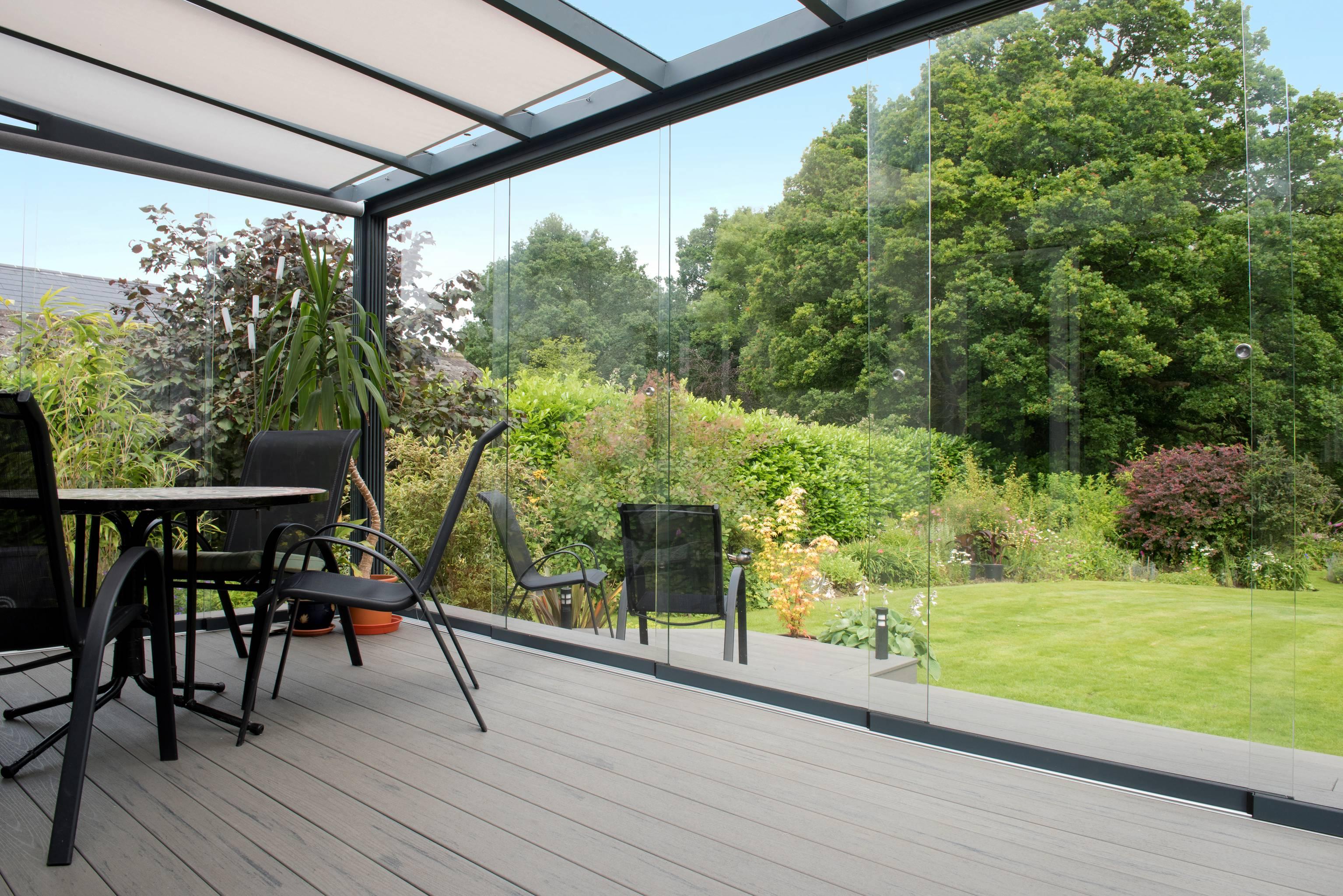 Gardendreams   Fundering voor glasschuifwand   700 cm