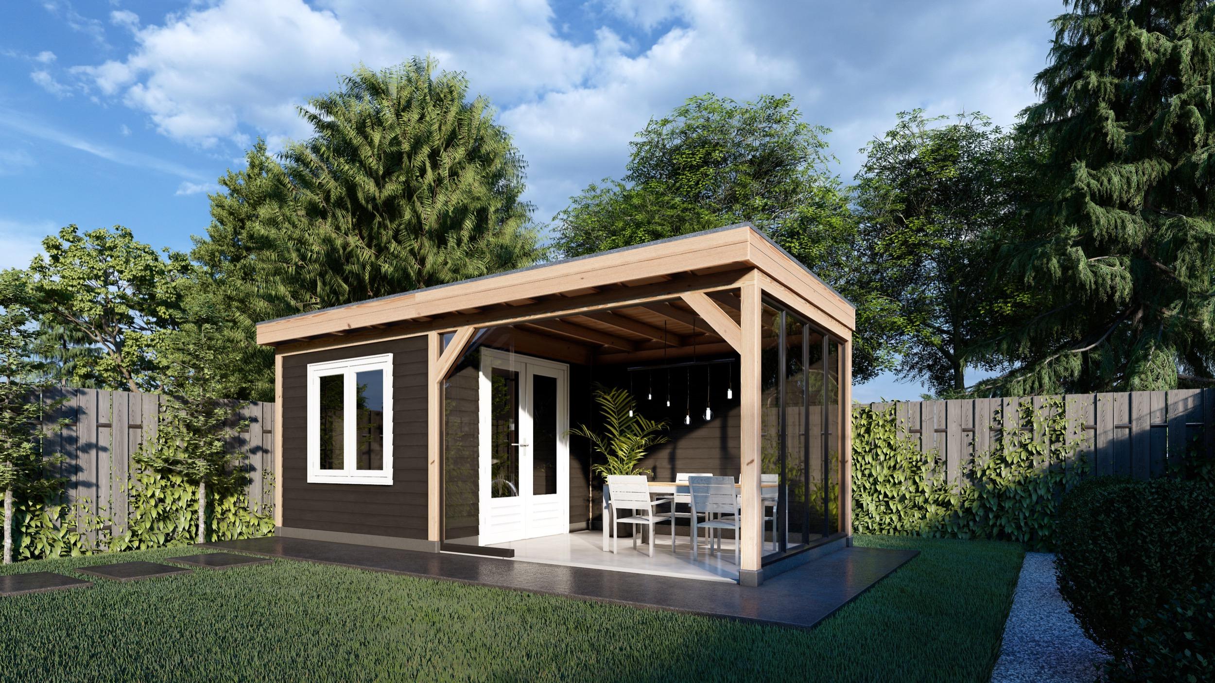 Trendhout | Buitenverblijf Casa | 6600x3300 mm | Combinatie 2