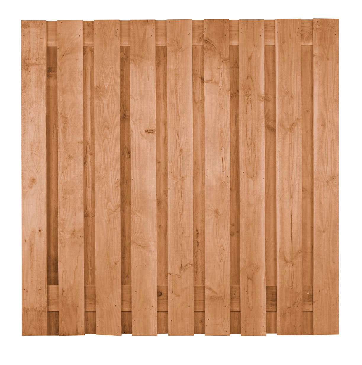 Carpgarant   Scherm Douglas fijnbezaagd   21 planks 180x180cm