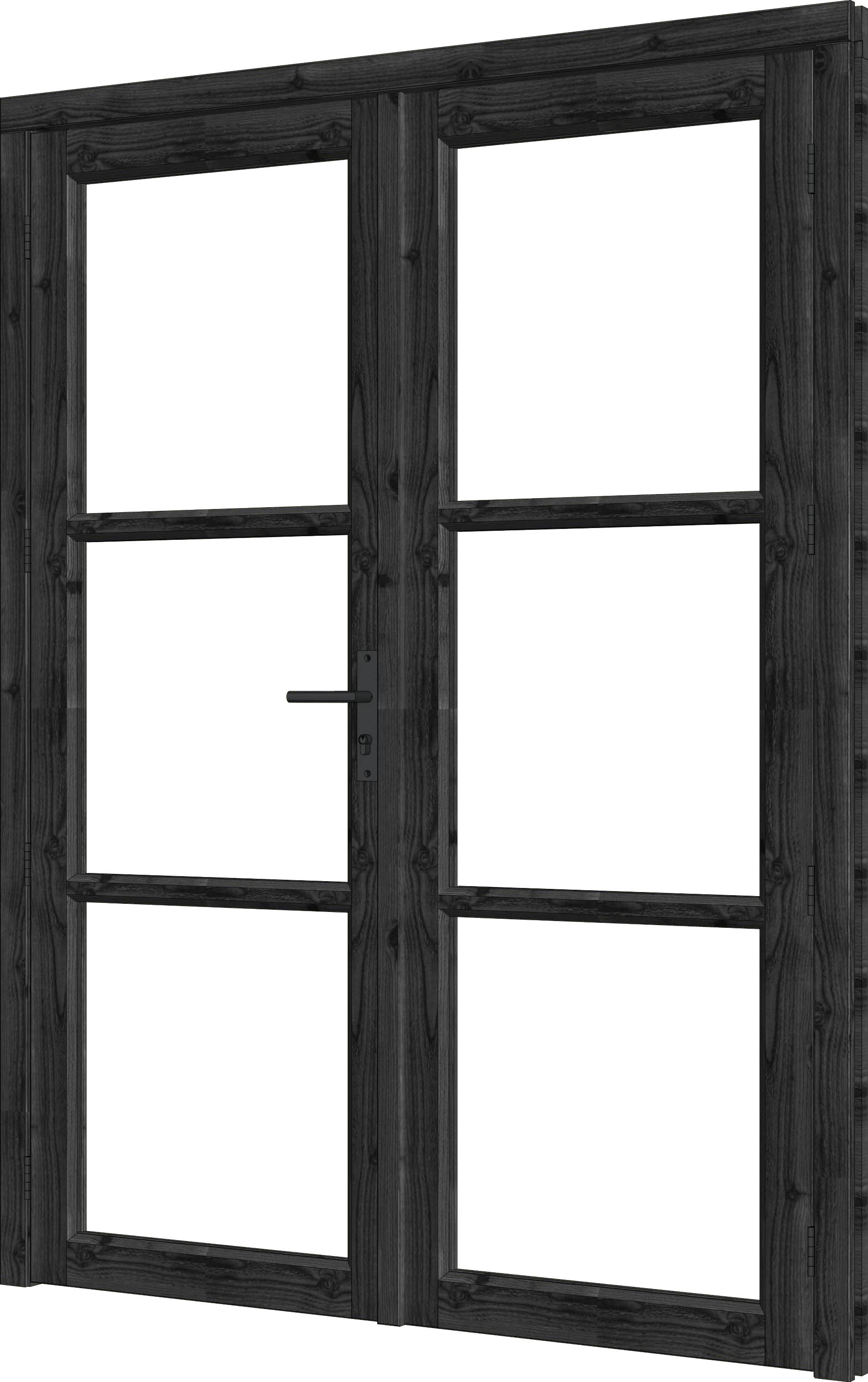 Trendhout | Steel Look Deur Dubbel | U3 | 163,6 x 213,6 cm