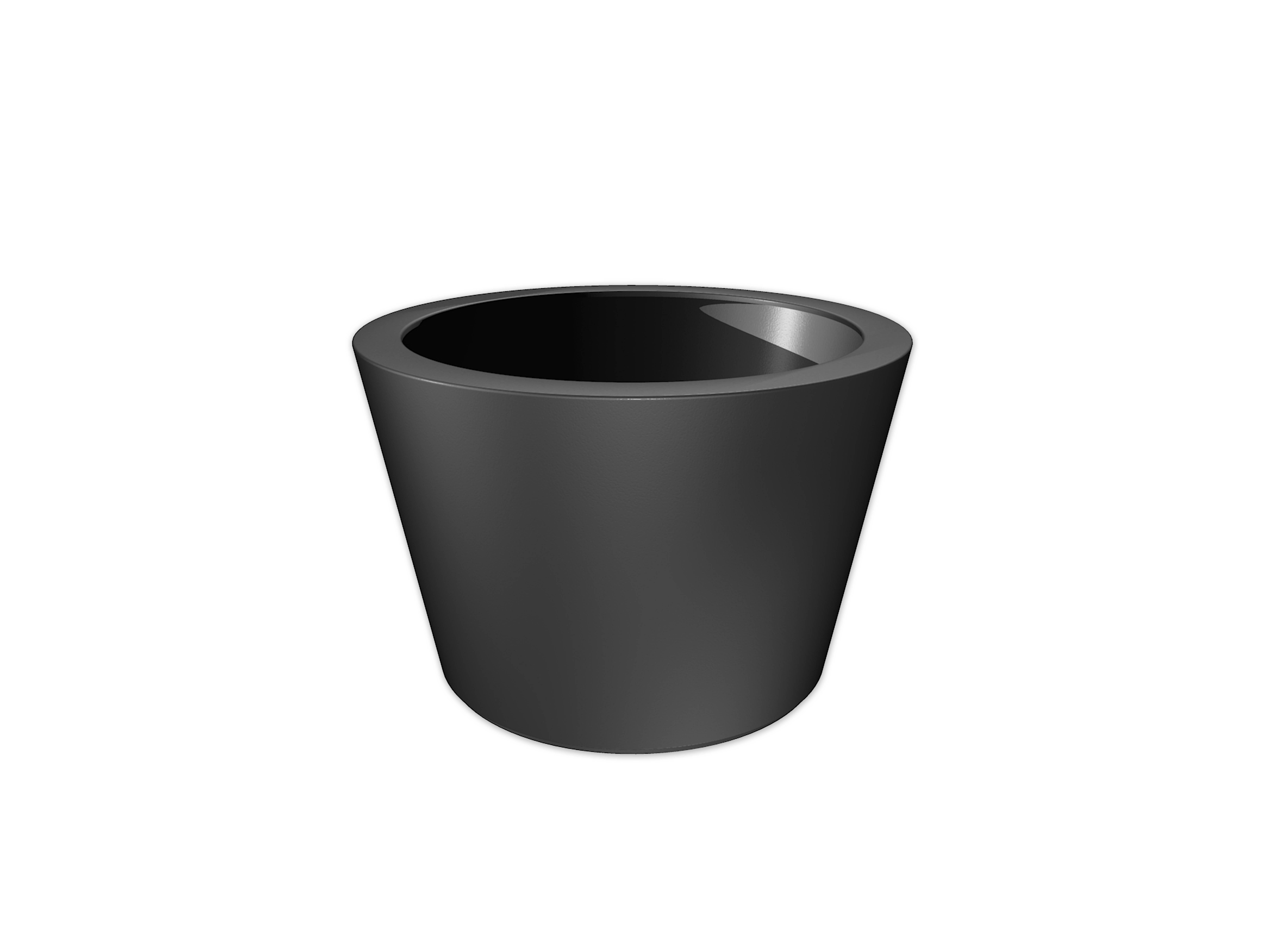 Adezz | Polyester bloembak Acer | Ø120 x 80 cm