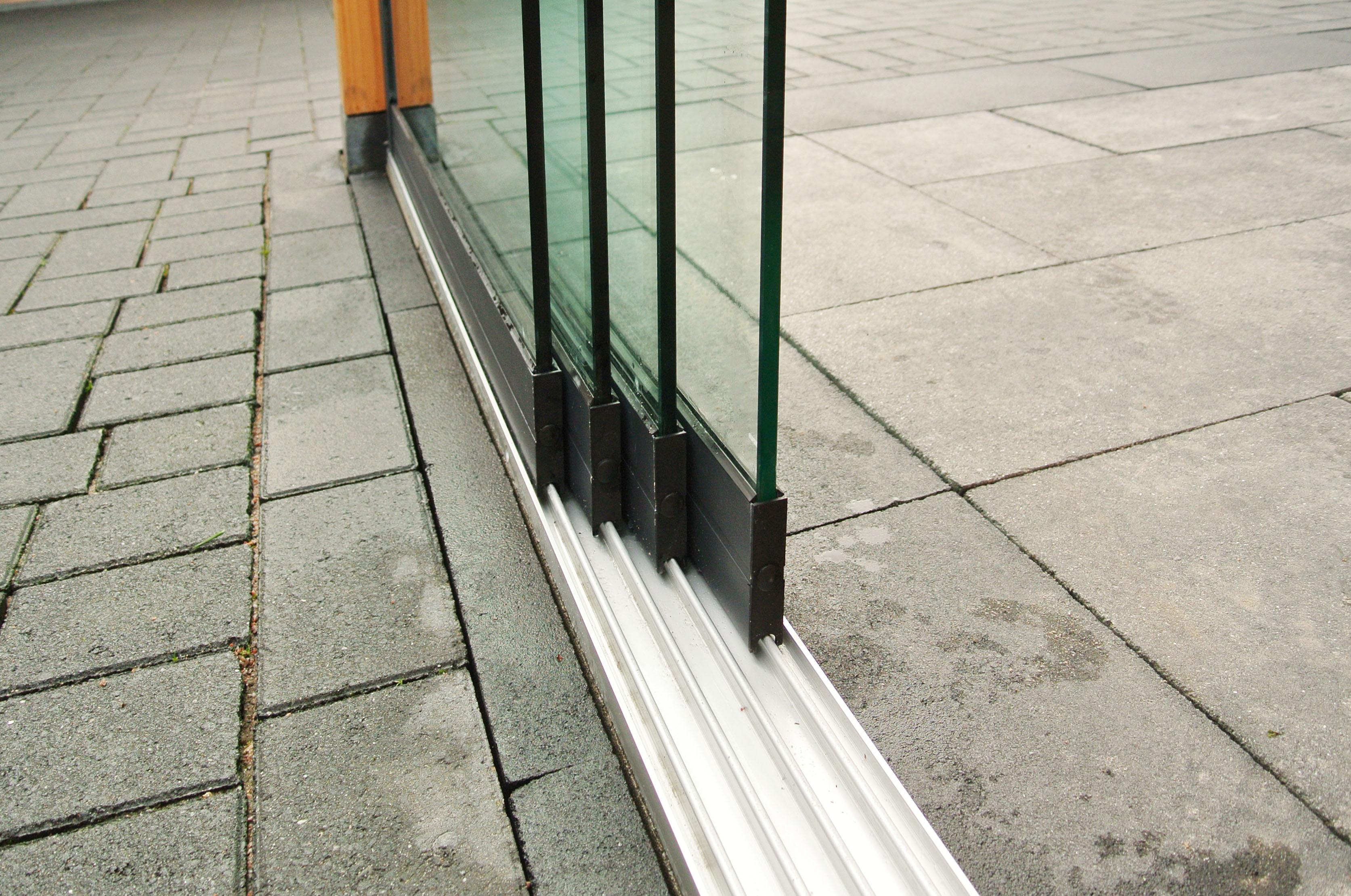 Trendhout   Onder- en bovenrail lengte 2900 mm   4-sporig