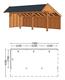 Trendhout | Kapschuur De Stee L 7400 | Combinatie 2
