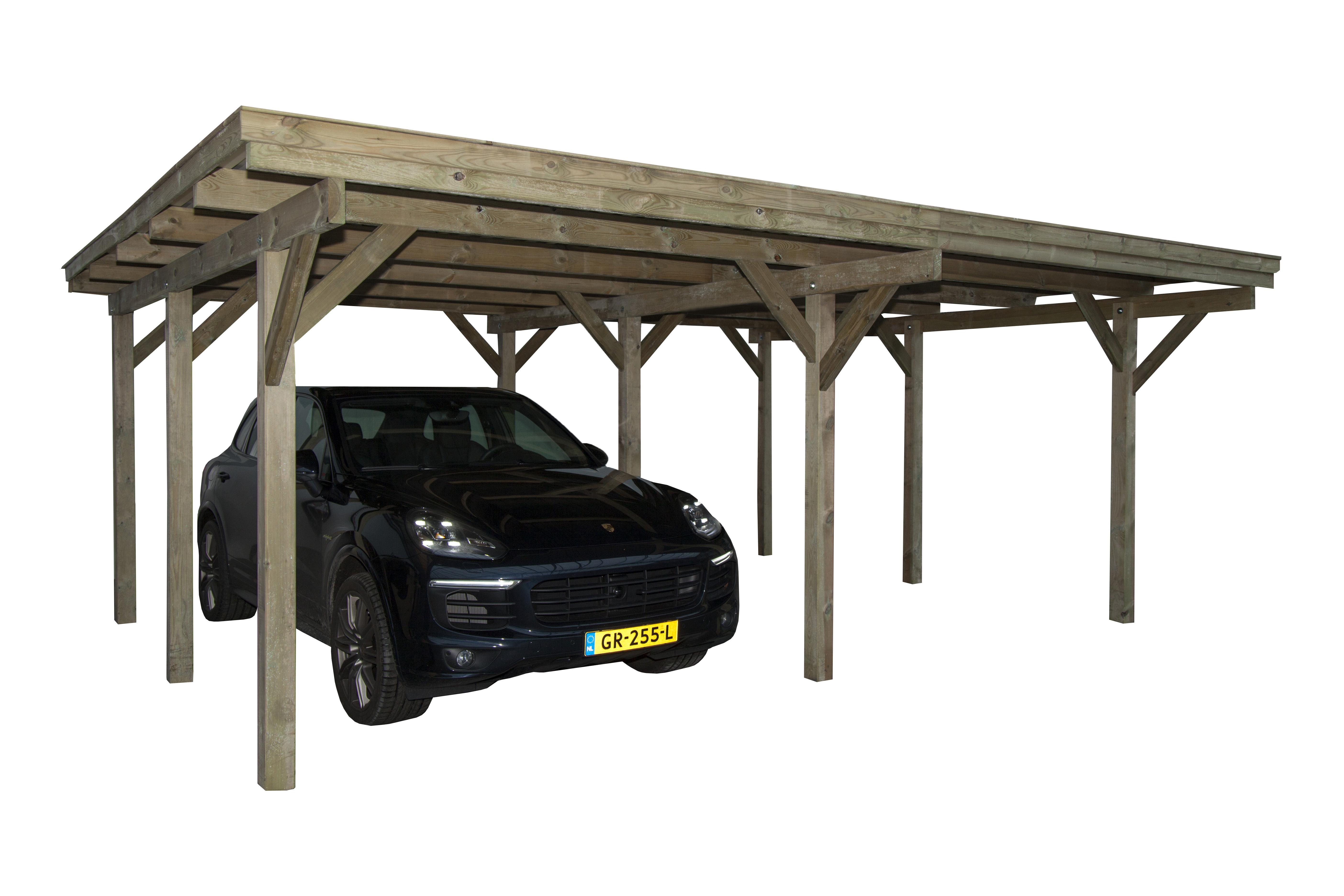 CarpGarant | Carport dubbel 600 x 360