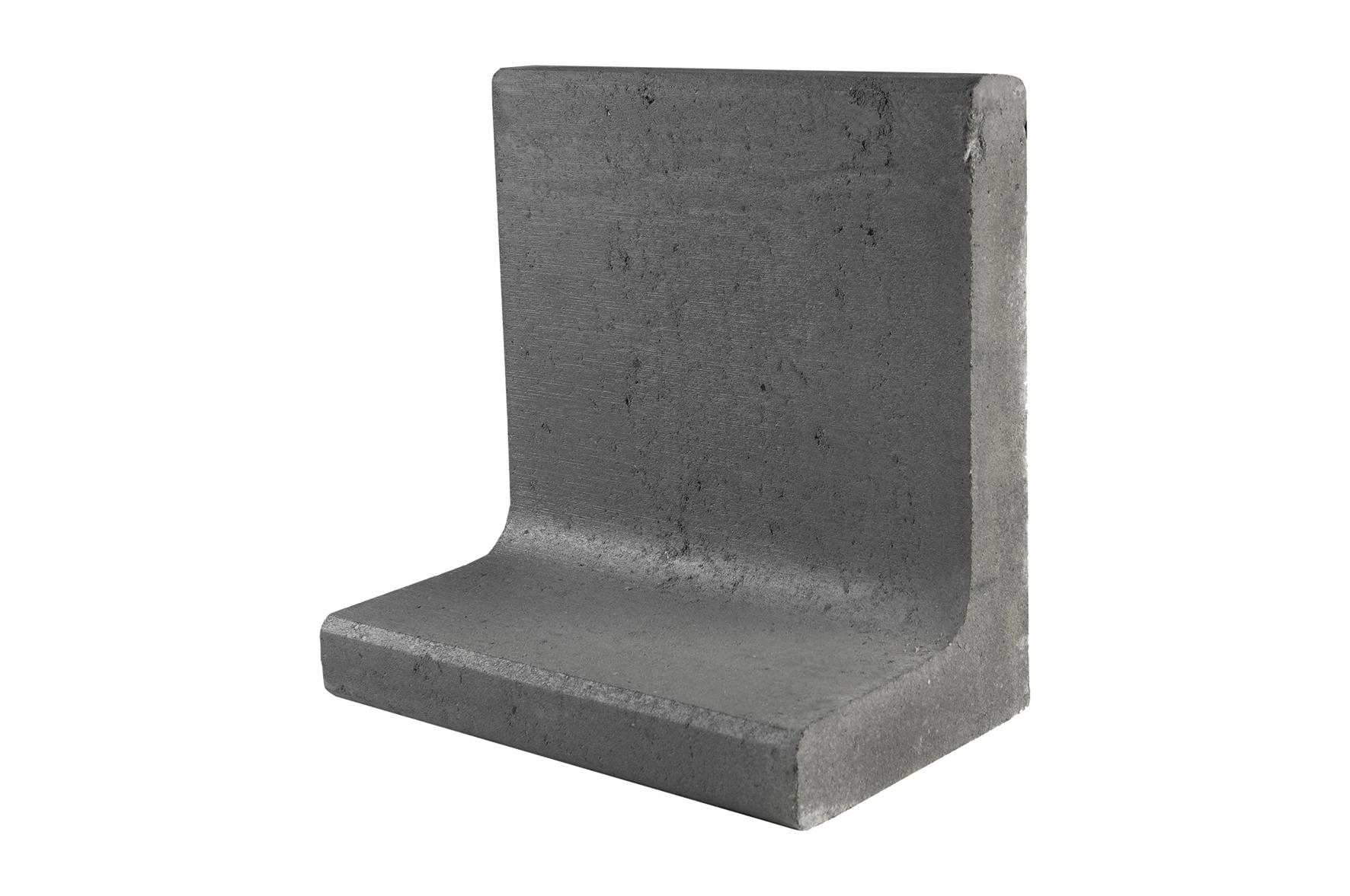 Gardenlux | L-element | 50 (br) x 40 x 60 (h) cm | Zwart