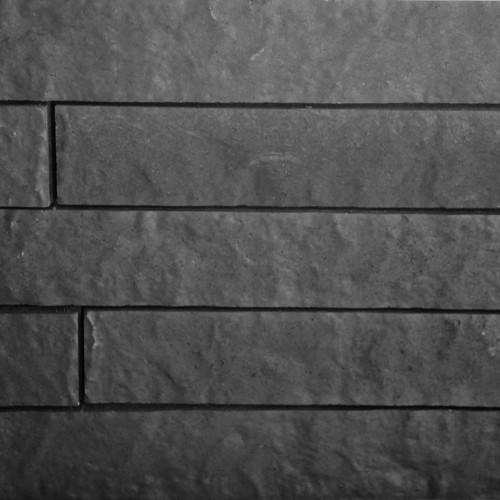 Excluton | Linia Rockface 10x15x60 cm | Antraciet