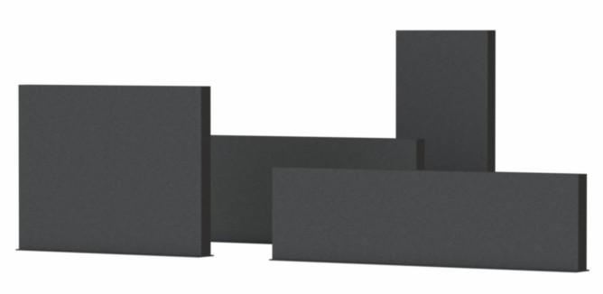 Adezz   Aluminium wand   400 x 15 x 200 cm