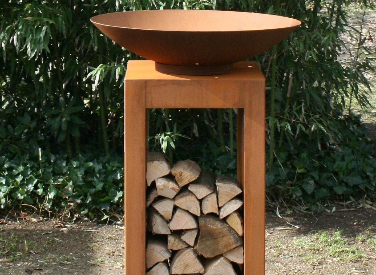 Adezz | Onbehandeld staal sokkel | 50 x 50 x 100 cm