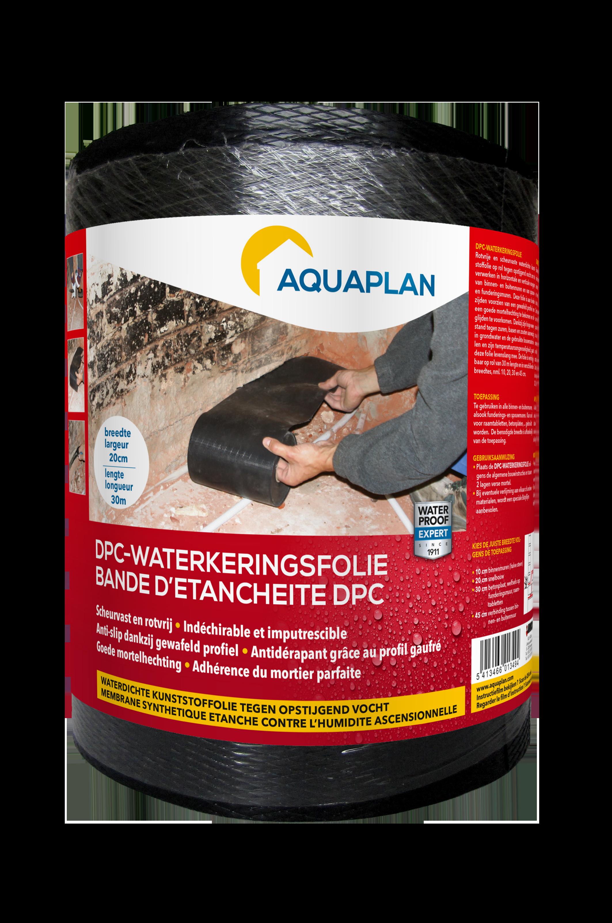 Aquaplan   DPC-Waterkeringsfolie   20 cm