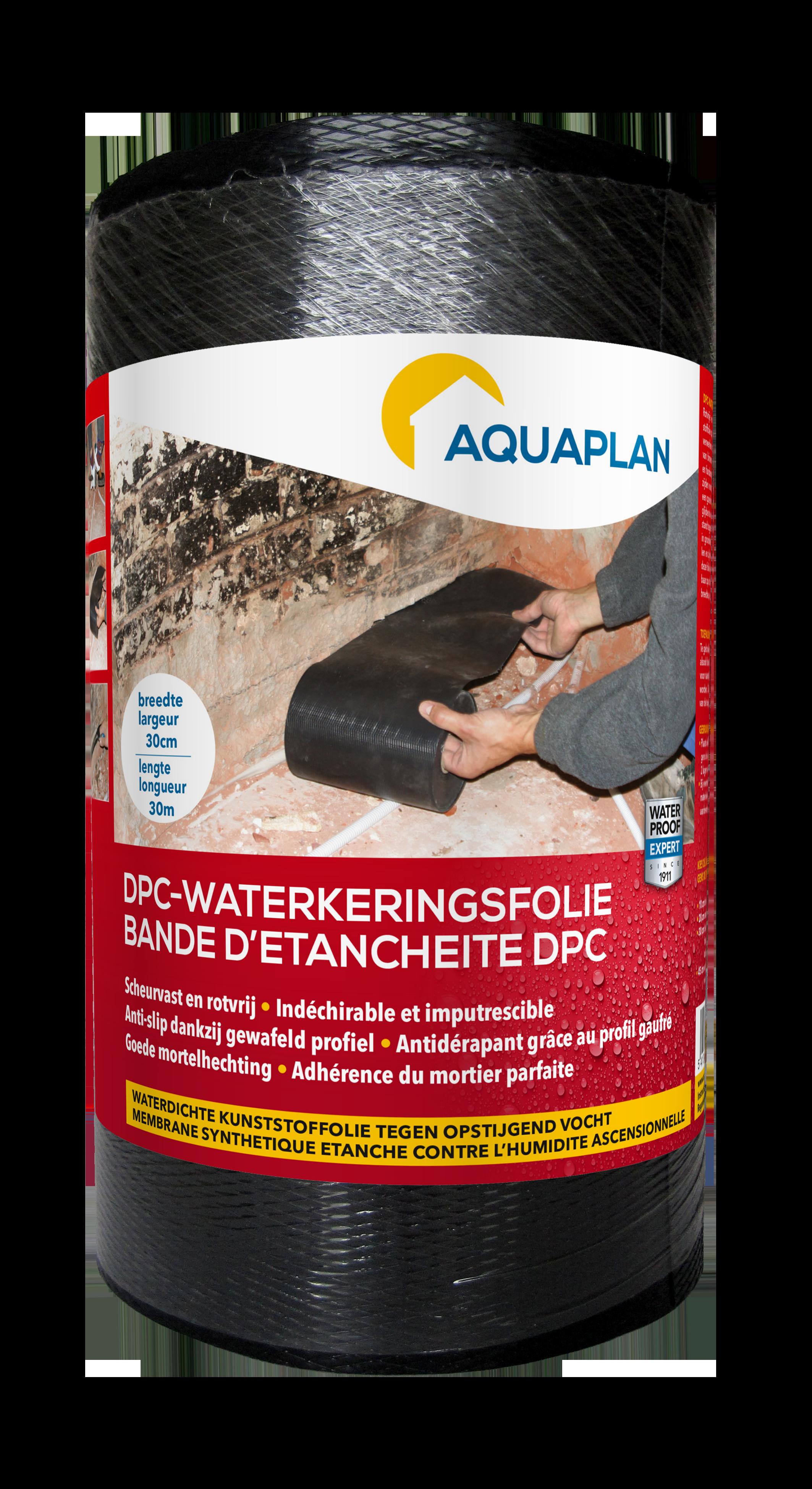 Aquaplan   DPC-Waterkeringsfolie   30 cm
