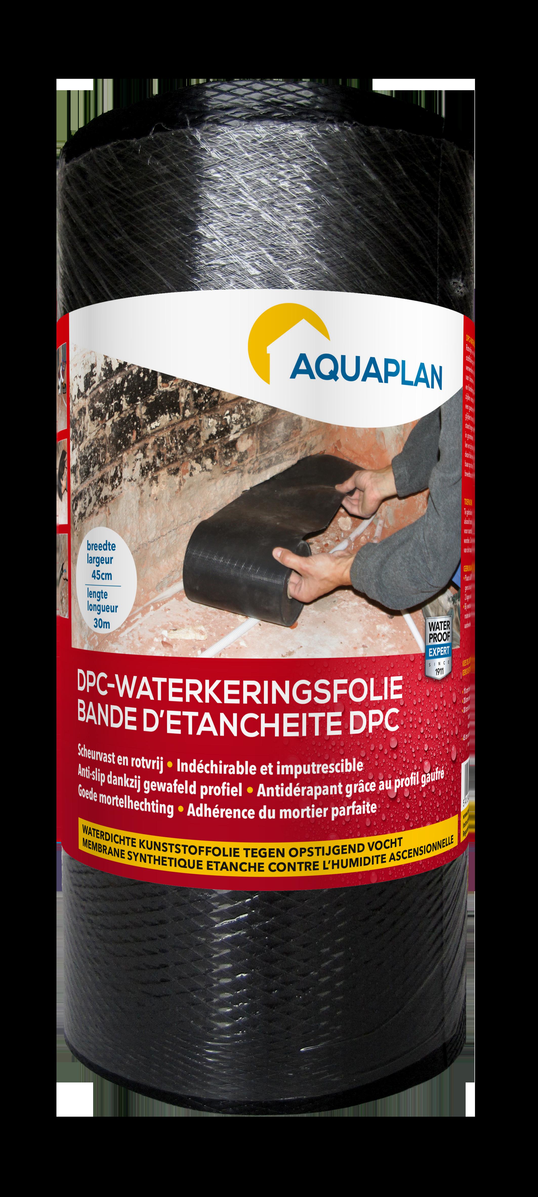 Aquaplan   DPC-Waterkeringsfolie   45 cm