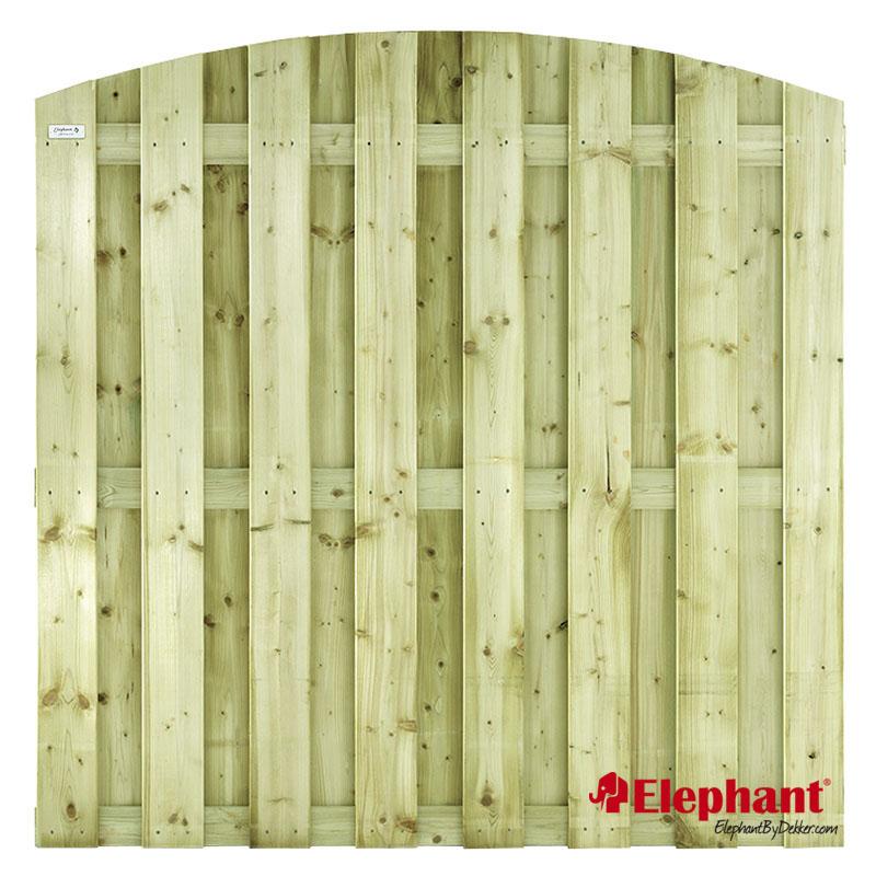 Elephant   Finch tuinscherm toog   180x180 cm   Grenen