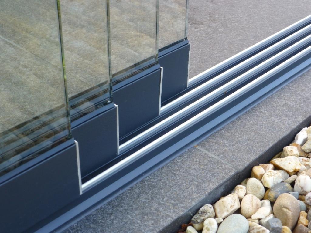 Westwood   Onder en boven rail lengte 300 cm   3-sporig