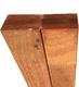 Hardhouten regel | Bangkirai | Gelamineerd | 40 x 60 mm | Sc. 590 cm