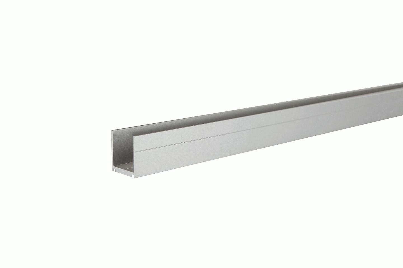 SeriAL/IdeAL   U-lijst Zilver   200 cm
