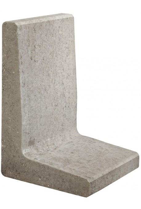 Excluton | L-element 40x40x40 cm | Grijs