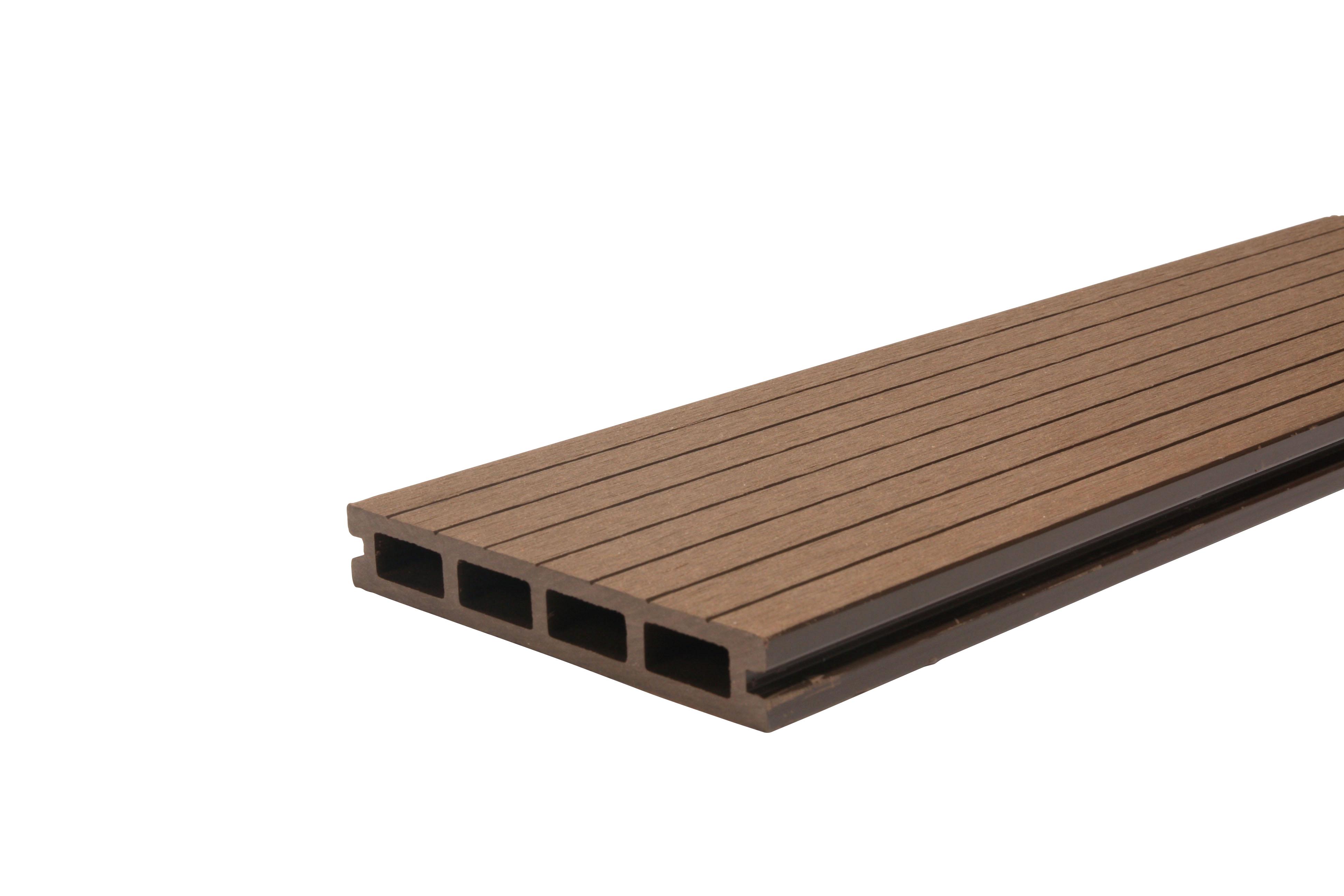 Woodvision Composiet Vlonderplank 23 x 145 Bruin 300 cm
